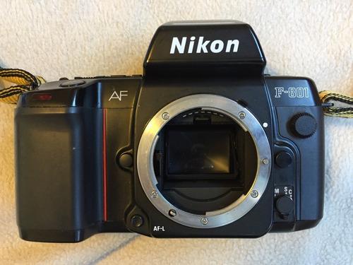 câmera analógica 35mm - nikon f801