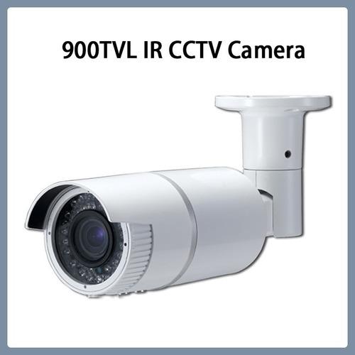 câmera analógica 900tvl lente 3.6mm infravermelho 30m