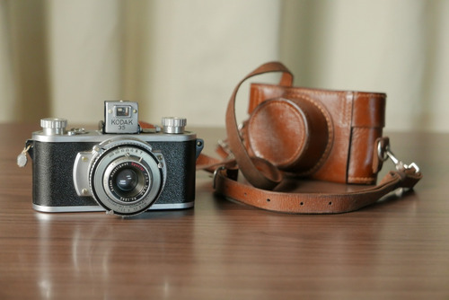 câmera analógica kodak 35