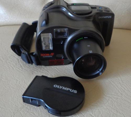 câmera analógica profissional olympus recordata back 330