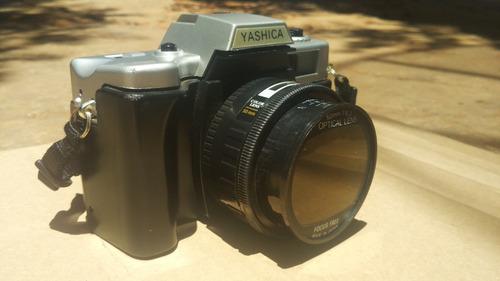 câmera analógica yashica 2000n zoomlens