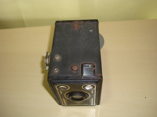 câmera antiga agfa synchro box