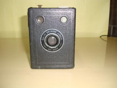 câmera antiga kodak  six-20 brownie junior