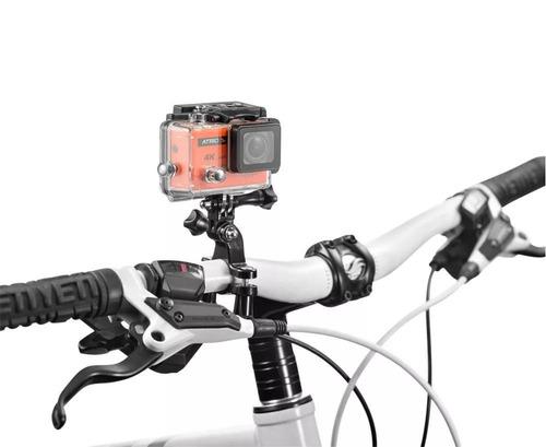 câmera atrio fullsport cam 4k dc185 16mp wifi controle