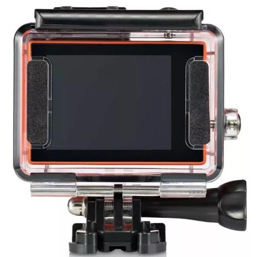 câmera atrio fullsport hd tela lcd usb prova d'água