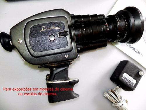 câmera beaulieu 4008 zm ii   relíquia 8mm