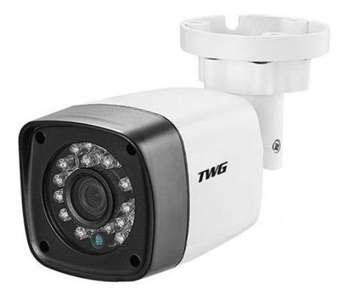 câmera bullet lente 3.6mm full hd 1080p 2mp ir 20 metros twg
