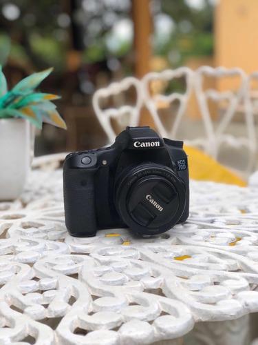 câmera canon 70d