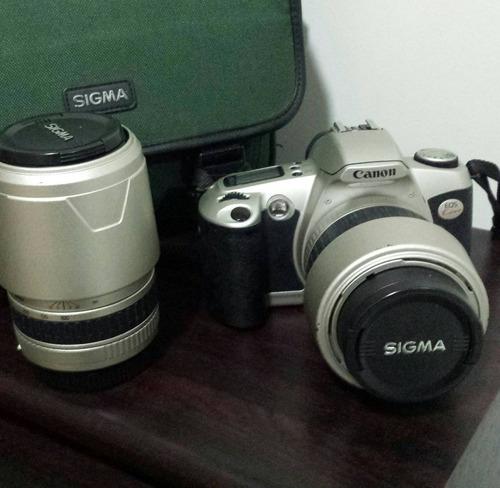 câmera canon analógica