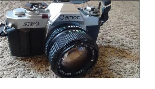 câmera canon av-1 - para colecionadores