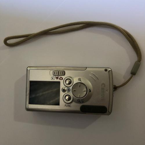 câmera canon digital ixus i 4 mega pixels também filma