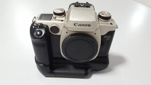 câmera canon eos 50  filme 35mm