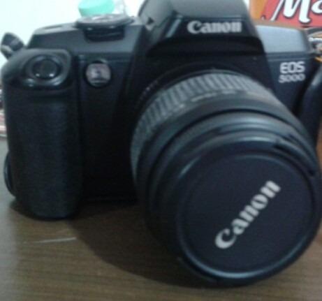 câmera canon eos 5000 - conservadíssima