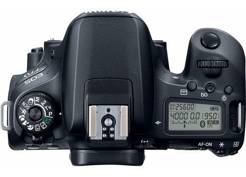 câmera canon  eos 77d - 24.2mp. - só corpo - loja platinum
