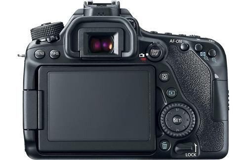 câmera canon eos 80d corpo + bolsa + tripé +sd 32gb em sp