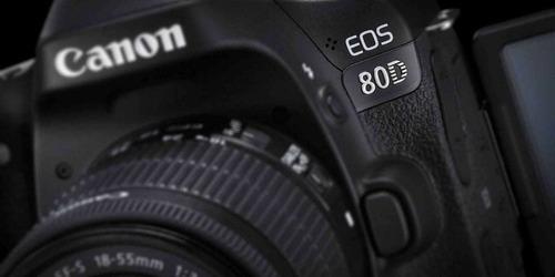 câmera canon eos 80d dslr (apenas corpo) pronta entrega