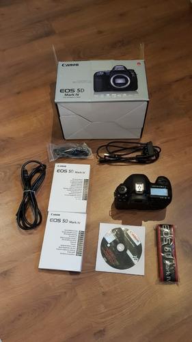 Câmera Canon Eos Dslr 5d Mark Iv - Corpo
