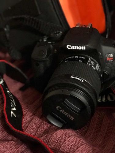 câmera canon eos rebel t5i + lente 18-55 #prontaentrega