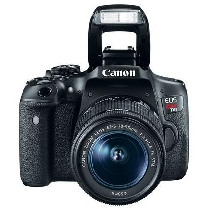 câmera canon eos rebel t6i 18-55mm lacrado + garantia canon