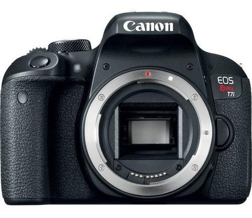 câmera canon eos rebel t7i dslr (apenas corpo) 12x s/juros