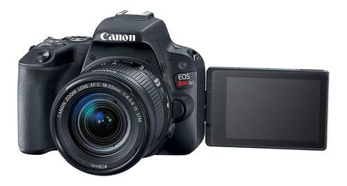 câmera canon eos sl2+ 18-55mm+ bolsa+ tripé+ 32gb+ bateria