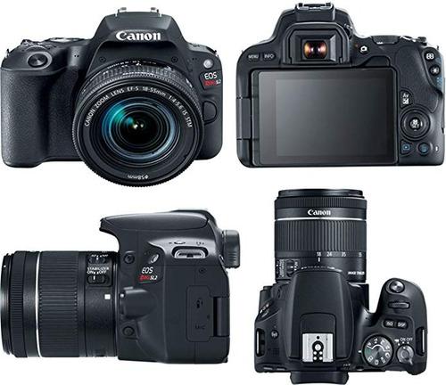 câmera canon eos sl2 +18-55mm+ bolsa+ tripé+ 32gb+ bateria