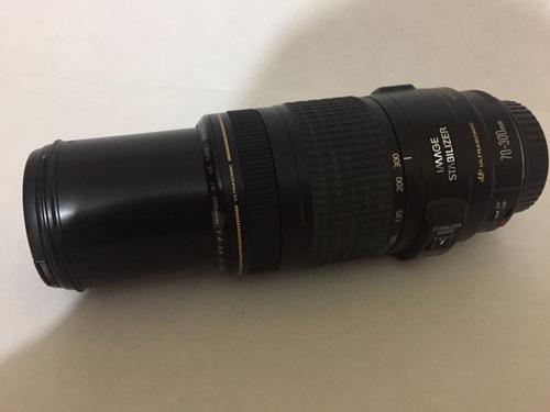 câmera canon eos t3i + 18-55mm + 70-300mm + 5 lentes + flash