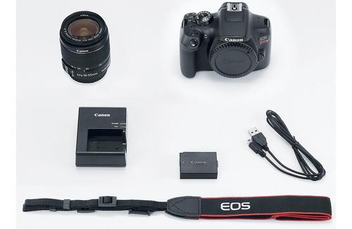 câmera canon eos t6+18-55+bolsa+tripé+32gb rev autorizada !!