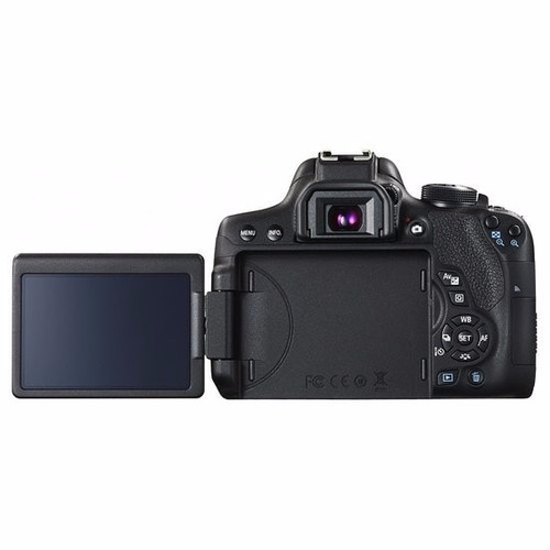 câmera canon eos t6i+18-55+bolsa+tripé+32gb rev autorizada !