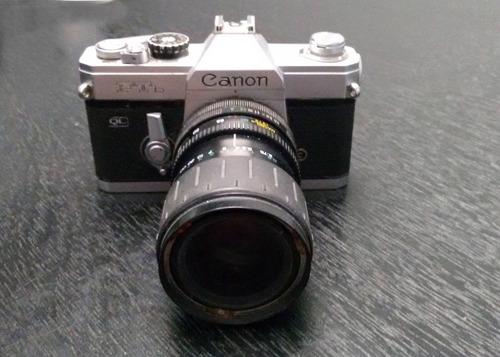 câmera canon filme ftb com lente 28-80