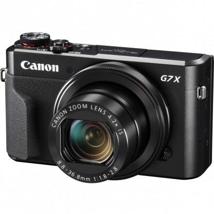 câmera canon g7x mk ii wifi preto com mb 32 class.10
