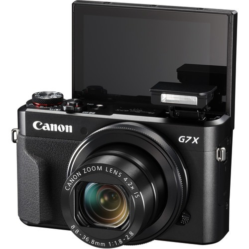 câmera canon powershot g7x mark ii, 20.2mp, wi-fi, full hd