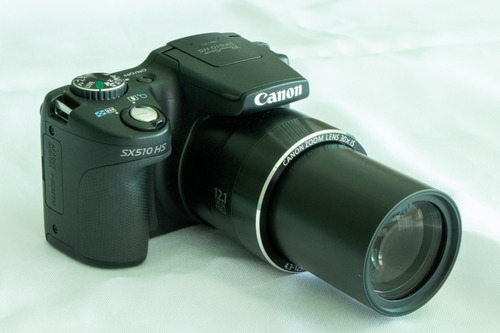 câmera canon powershot sx510 hs com um poderoso zoom de 30x