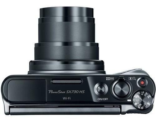 câmera canon powershot sx730 hs 20.3mp 40x preta 12x s/juros