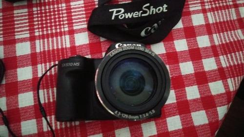 câmera canon powershot wifi sx510hs semiprofissional