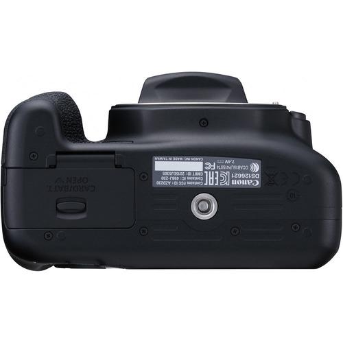 câmera canon rebel t6 + 18-55mm garantia canon brasil + nf-e