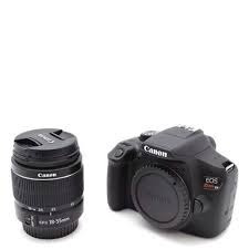 câmera canon rebel t6i c/ 18-55mm is stm pronta entrega