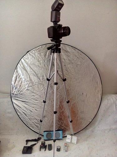 câmera canon t3i + acessórios