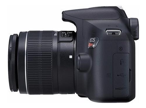 câmera canon t6 - 18-55mm 32gb bolsa tripe garantia semjuros