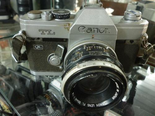 câmera canon tl ql