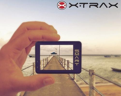 câmera capacete motociclista xtrax 4k ultra hd+20 acessórios