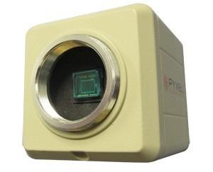 câmera ccd sony colorida para microscopio - frete grátis