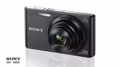 câmera compacta sony