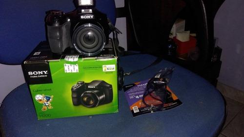 câmera cyber-short h 200