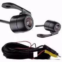 câmera d ré borboleta visão noturna universal estacionamento