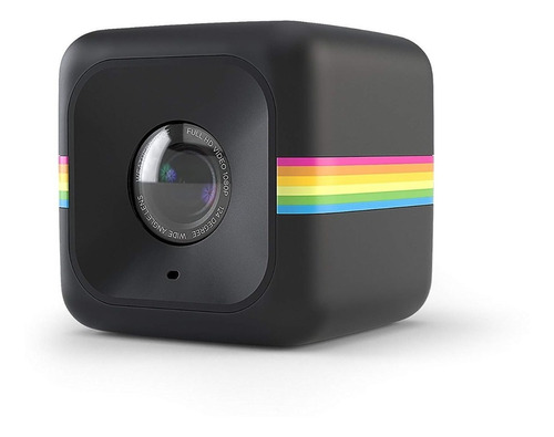 câmera de ação polaroid cube act ii - preta - pronta entrega