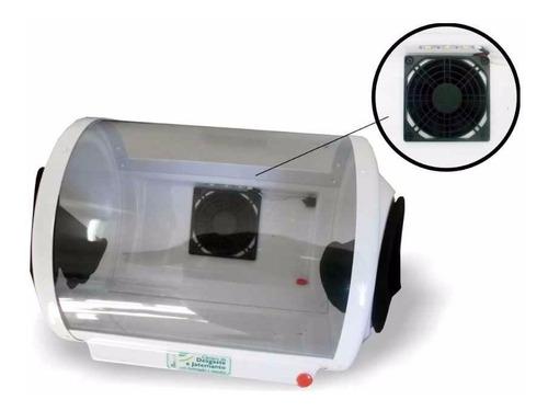 câmera de desgaste biotron c/ exaustor e iluminação bivolt