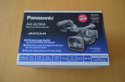 câmera de filmar - panasonic ag-ac90a
