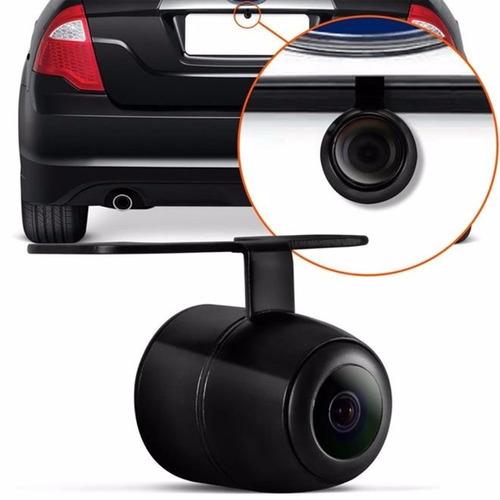 câmera de ré automotiva borboleta colorida estacionamento nf