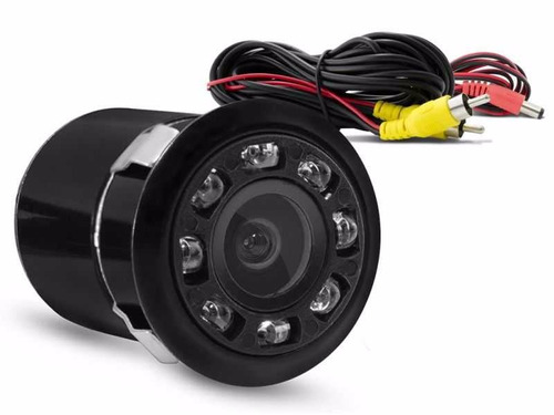 câmera de ré infravermelho led visão noturna alta resolução